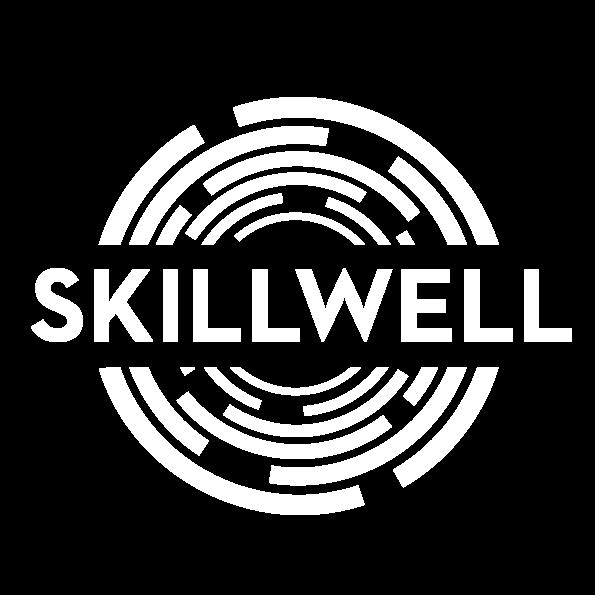 Skillwell logo white